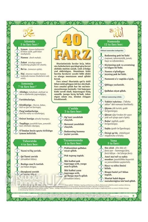 «40 farz» (plakat)
